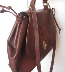 Kožna torba, vintage