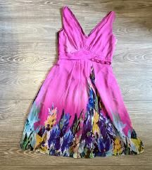 Sarena letnja leprsava haljina 38
