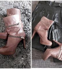 Italijanske cizme koža