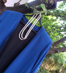 Kardigan XL/XXL + svilena bluzica