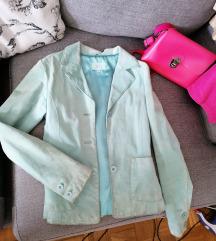 Kozna jakna/sako Mint S