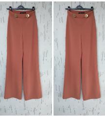 Fantastične Zara duboke pantalone REZ