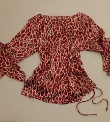 Letnja bluza crveno bela