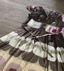 Svilena haljina S