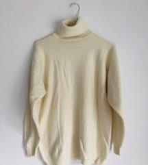Krem džemper [VINTAGE