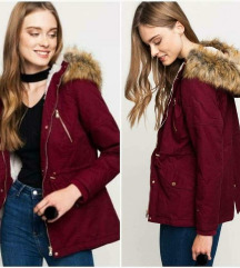 Tally Weijl Burgundy Parka