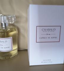 Chabaud Maison de Parfum Caprice de Sophie pf. or