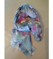 RezUnikatna šarena svilena marama