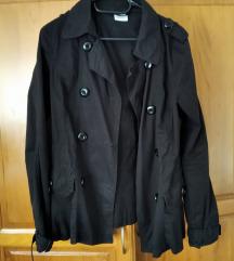 Zara crni prolećni mantil