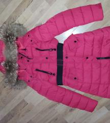 Crvena zimska jakna- Prodata