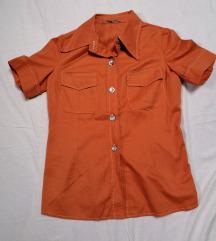 Narandžasta safari košulja L-XL akcija!