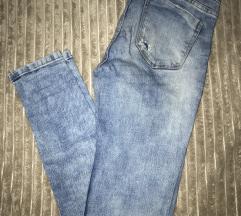Zara iscepane high waist