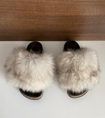 Grubin papuce sa krznom br.35 (20,5cm)