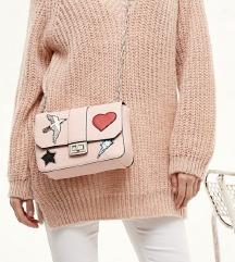 Stradivarius roza torba