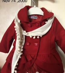 Nov kaput za bebe 9 meseci