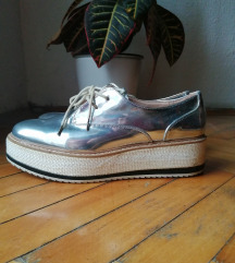 Zara silver cipele 39 / 40