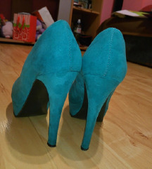 Tirkizne cipele