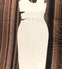 Herve Leger bela haljina NOVA