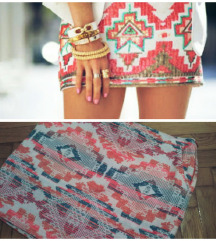 rezz.ŠOK CENA!!!! 500din Promod aztec suknja
