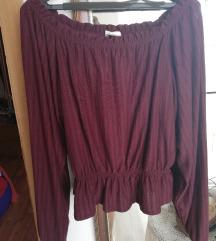 H&M bluza bez ramena