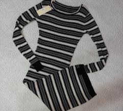 Dzemper haljina na pruge NOVO