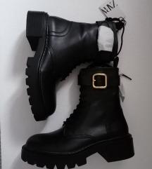 Nove ZARA kožne Čizme