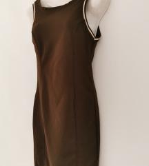 Zara braon nova haljina