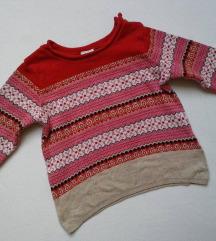H& M koncana bluza vel.74