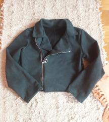 Nova prolećna jakna-imitacija prevrnute kože