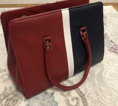 Crveno plava torba