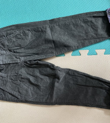 Pantalonice tanji somot za devojcice 92