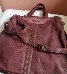 Bordo/ljubicasta veca David Jones torba