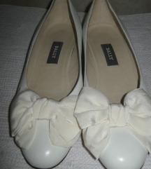 BALLY bele sa svilenom mašnom 39/25,5cm-NOVO