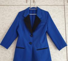 Sako-haljina kraljevsko plavi