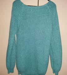 Džemper sa sjajnim koncem