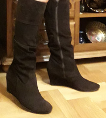 BATA kozne braon cizme 25cm