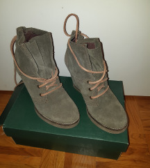 Bata ženske cipele prevrnuta koža