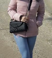 Bebi roze zimska jakna