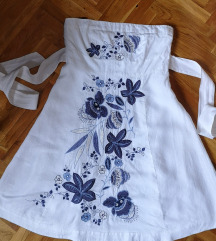Bela letnja haljina 44