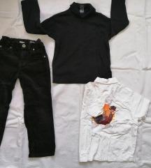 HM pantalone,rolka i kosulja