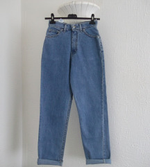 Marks Spencer duboke mom jeans farmerke