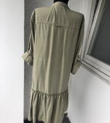 Zara maslinasta haljina