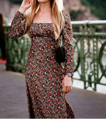 Zara cvetna haljina NOVO %%%%