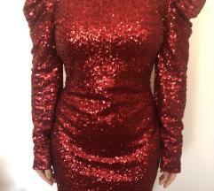 Crvena svecana haljina NOVA