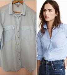 NOVO H&M plava košulja