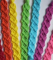 Macrame narukvice u svim bojama