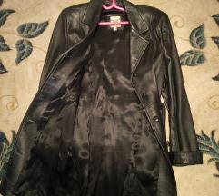 Ženski kožni mantil, veličina 38