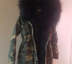 Maskir zimska jakna/crna M