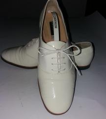 FRATELLI ROSSETI Lux bele lakovane kožne cipele