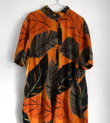 Narandžast Print Košulja [VINTAGE]